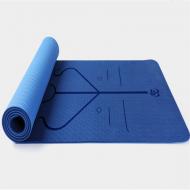 Килимок для йоги та фітнесу XPRO Asanmat 183х61 см Sea