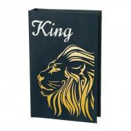 Книга-сейф на ключе Царь зверей 26х17х5 см (0001-017)