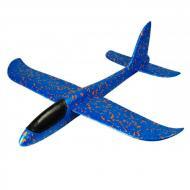 Самолет планер из пенопласта 48 см Синий (345)