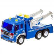 Евакуатор іграшковий Wenyi 26 см інерційний музичний Синій (58755)