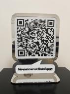 Табличка с QR кодом на подставке Manific Decor 30х40 см (13.001)