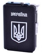 Портсигар Украина №3308-1 с зажигалкой на 20 сигарет (1343613470)