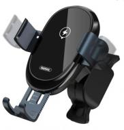 Автомобільний автоматичний сенсорний тримач 360 на дефлектор для телефону в машину REMAX RM-C39 Чорний