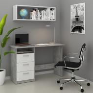 Стол компьютерный 120x77 Vicco Meiko Бетон/Белый