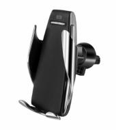 Держатель автомобильный с функцией беспроводной зарядки Penguin Smart (5373)