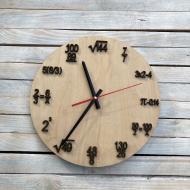 Часы настенные Математик