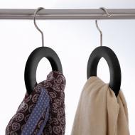 Вешалка для ремней, шарфов и галстуков Orei Черный (641)