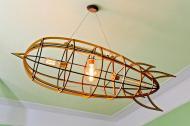Люстра дерев'яна Сонце Wood (L-01-21)