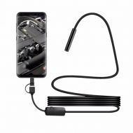 Ендоскоп Цифровий ZCF товщина 7 мм USB / micro USB з підсвічуванням 2 м (432572122)