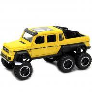 Машинка іграшкова Автопром Mercedes-Benz G63 метал/світло/звук Жовтий (7692-1)