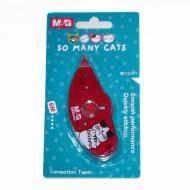 Корректор ленточный M&G Cats 5 мм длина 6 м в блистерной упаковке (ACT11875)