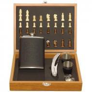 Мужской подарочный набор с флягой и шахматами (976)