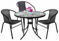 Комплект садовой мебели Jumi Garden Bistro Black (23121)