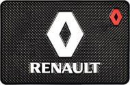 Килимок антиковзаючий на торпедо Renault силіконовий (2130)