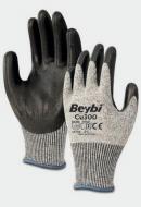 Защитные перчатки Beybi Cu 300 с полиуретановым покрытием XL Серый (3958697)
