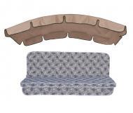 Комплект подушок для гойдалки eGarden Diva 180 з тентом (01705)
