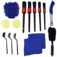 Набір щіток і ганчірок для чищення автомобіля для детейлінгу (H81)