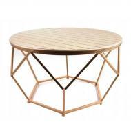 Столик круглый Flora Henri металлический 71 см (30280)