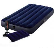 Матрас надувной Intex 64757 с подушкой 68672 и насосом 68612
