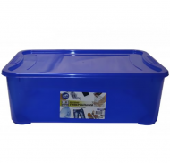 Контейнер Ал-Пластик Easy box 31,5 л Синій (MAP-71894)