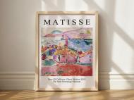 Постер в рамке Matisse View Of Collioure 42х60 см
