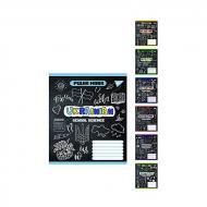 Шкільний зошит YES А5 48 аркушів Предметна (Doodle board) набір 8 видів (764853)