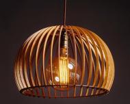 Люстра дерев'яна Сонце Wood (L-01-09)