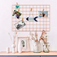 Настенный органайзер Мудборд доска визуализации и планирования прямоугольная 45х65 см