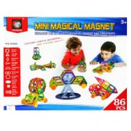 3D магнитный конструктор Mini Magical Magnet 86 деталей
