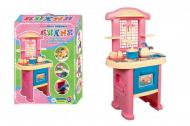 Ігровий набір Технок Кухня дитяча № 4 57х48х15 см Рожевий (3039)