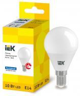 Лампа LED IEK ALFA G45 куля 10Вт 230В 6500К E14 (LLA-G45-10-230-65-E14)