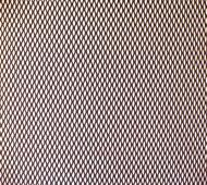 Сітка для захисту радіатора алюмінієва Carmos № 1 дрібна 50х100 см Чорний