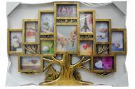Мультирамка-фоторамка FAMILY родовое дерево (2142)