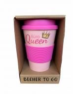 Кофейная кружка Becher to go из волокон бамбука 350 мл