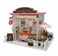 3D Румбокс CuteBee DIY DollHouse Шоколадниця (V358SD)