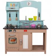 Кухня дитяча AVKO Софія C461 дерев'яна з посудом (41461)