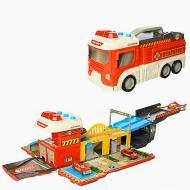 Іграшка Пожежна машина-гараж (E5018F)