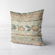 Подушка декоративная Soft Орнамент в пастельных тонах 50x50 см (50PST_ERA006)