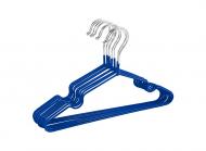 Плічки з силіконовим покриттям 10 шт Синій