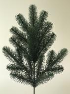 Ветка литая 50 см Зеленая