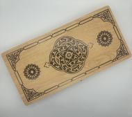 Игровой набор нарды деревянные 48х49 см (KF-095-5)
