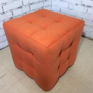 Пуф PidVushko Trinity 17 45х45 см Оранжевый (2020-13)