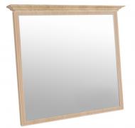 Зеркало МАКСИ-Мебель в МДФ рамке с карнизом Дуб Сонома (9071)