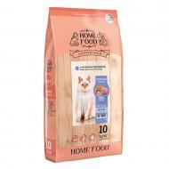 Корм сухий HOME FOOD Ягнятина з лососем для дорослих котів з чутливим травленням 10 кг