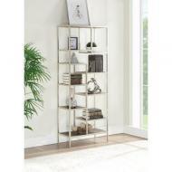 Стелаж для зберігання в стилі Loft 2030х800х350 метал/дерево Білий (NS-1919)