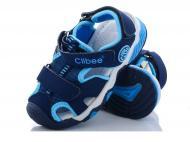 Сандалі для хлопчиків Clibee на липучці 15,7 см р. 26 Синій (491336)