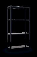 Стелаж металевий Меткас РЕК 3 1500x750x300 мм 35 кг/полку (річок 3)