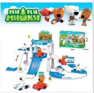 Игровой набор Мишки ми-ми-мишки Парковка зимняя ABC