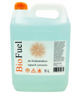 Биотопливо для камина с ароматом цитруса BioFuel 5 л