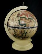 Глобус бар настольный Гранд Презент 33002W Карта мира 33 см Белый (30)